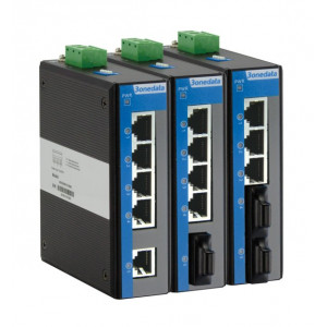 3onedata IES215 Industrial 5-port Unmanaged Fast Ethernet Switch with Fiber Ports