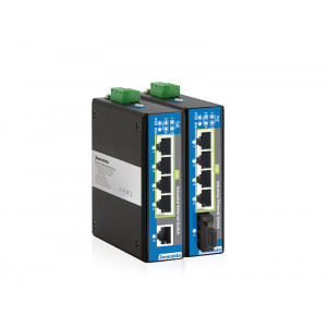 3onedata IPS215 Industrial 5-port Unmanaged Power over Ethernet Switch with Fiber Ports