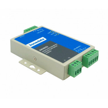 3onedata SW485GI 2-in-1 Industrial RS-232/422/485 Serial Converter and Repeater