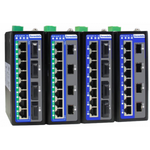 3onedata IES6312-8GT4GS 12-port Gigabit 10/100/1000TX, Layer 2, Managed Industrial Ethernet Switch