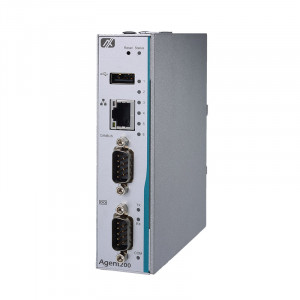 Axiomtek Agent200 Fanless Embedded Computer with i.MX 6UL Processor and CAN Bus