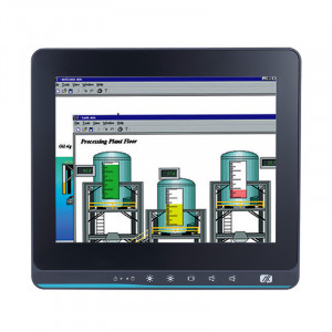 Axiomtek GOT110-316-PoE-PD PoE Powered Fanless Touch Panel Computer with Intel Celeron CPU