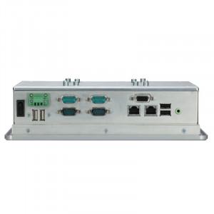 "Axiomtek GOT3846T-832 Heavy-Duty Panel PC, 8.4"" Touchscreen, Intel Atom"