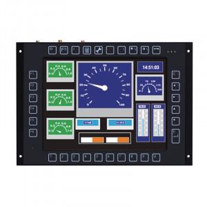 Axiomtek GOT710-837 Fanless Touch Panel Computer with E3845 CPU