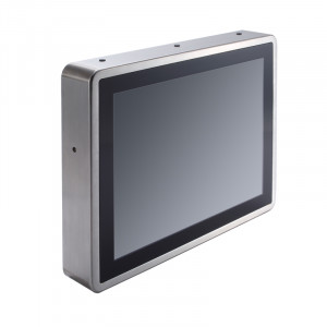 AxiomTek GOT812L(H)-880 Fanless Touch Panel Computer with i5 CPU
