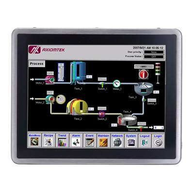 """Axiomtek GOT817L-511, 17"""" Touch Panel Computer, IP69K, Intel i5"""