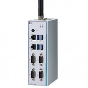 Axiomtek ICO300-83B DIN-rail Fanless Embedded System, Intel Celeron N3350