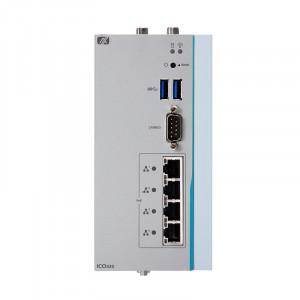 Axiomtek ICO320-83C DIN-rail Fanless Embedded System, Intel Celeron N3350/N4200