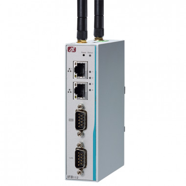 Axiomtek IFB112 Fanless Embedded Computer with i.MX 6UL Processor, CAN Bus, Ethernet, DIO