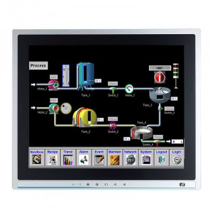 """Axiomtek P1127E-500 Industrial Panel PC with 12.1"""" Touchscreen and LGA 1151 Socket for Intel CPUs"""