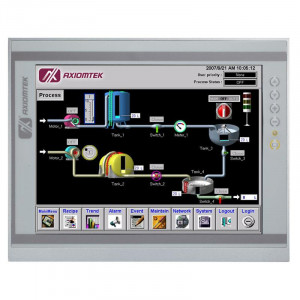 """Axiomtek P1157S-881 HMI with 15"""" LCD, Touchscreen, and LGA 1150 Socket for Intel Processors"""