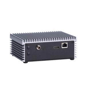 AxiomTek eBOX560-500-FL Fanless Computer, i7-6600U & Celeron 3955U
