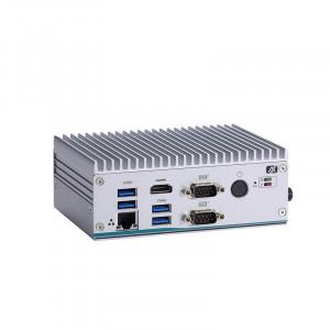 AxiomTek eBOX560-512-FL Fanless Computer, Intel Celeron 3695U & i5 7300U