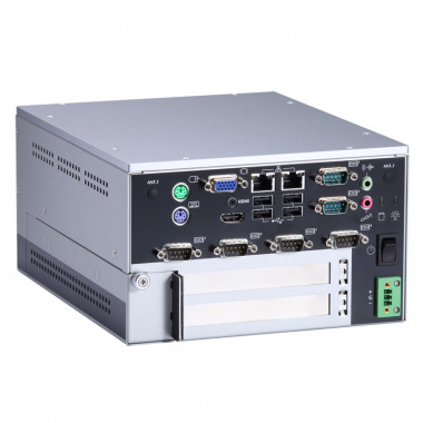 Axiomtek eBOX638-840-FL Fanless Computer with 2 GHz Intel Celeron J1900