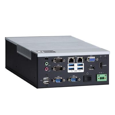 AxiomTek eBOX640-500-FL Fanless Computer, i7/i5/i3 and Celeron