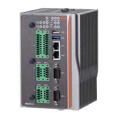 Axiomtek rBOX510-6COM Fanless Computer, Atom™ E3827