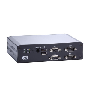 AxiomTek tBOX810-838-FL Fanless Computer, Atom E3845/ E3827