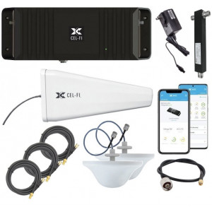 Cel-Fi GO-X Smart 4G LTE Signal Booster Kit for Two Level Buildings