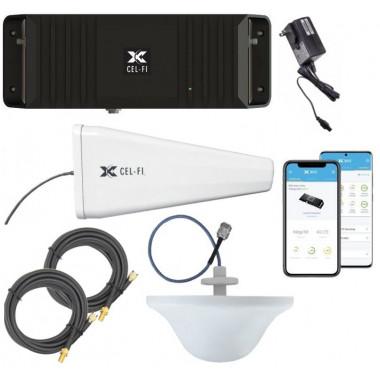 Cel-Fi GO-X Smart 4G LTE Signal Booster Kit for Single Level Buildings