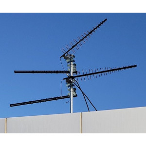 Cel-Fi A62-V44-100 Wideband Directional LPDA Antenna for Outdoor Locations