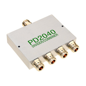 Cel-Fi PD2040 4-Way Power Combiner and Splitter, SMA or N-Type Connectors