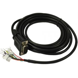 Cradlepoint (170676-000) Serial DB9 to GPIO Cable for IBR1700 Series Routers, 3-Meter