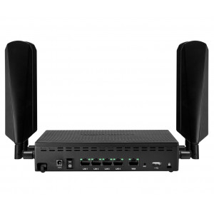 Cradlepoint AER1650 LTE Router for Branch Networks with NetCloud, GPS, no Wi-Fi