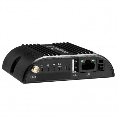 Cradlepoint COR IBR200 Industrial IoT LTE Router with NetCloud, 1 Ethernet Ports, GPS, Wi-Fi