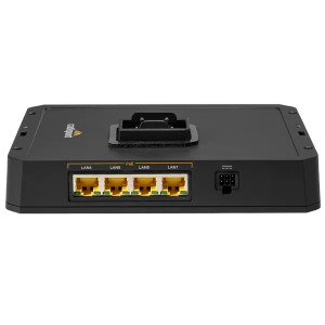 Cradlepoint MB-RX30-POE Managed Accessory Base for the R1900 Router
