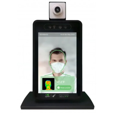 InHand InMetrics K16 Accurate, Hands-Free, Remote Body Temperature Kiosk