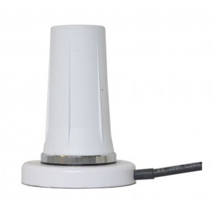 Mobile Mark RM-WLF Rugged Magnetic Mount LTE Cellular Antenna, 5 dBi Gain