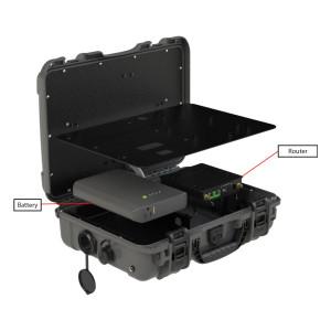Parsec PRO6B (Beagle) 6:1 Case Antenna with MIMO LTE, WIFI, & GPS
