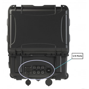 Parsec PRO13N (Newfoundland) 13:1 Case Antenna with MIMO 5G LTE, WIFI and GPS