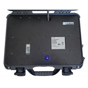 Portable Wireless Hotspot with Cradlepoint IBR900, MIMO LTE, WIFI, & GPS Antennas