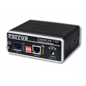 Patton CopperLink CL1101 PoE Line Power Extender with Fast Ethernet