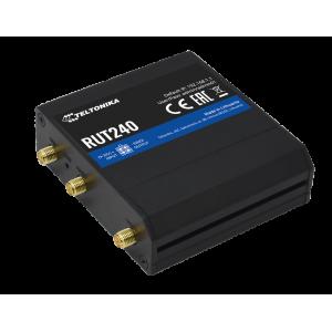 Teltonika RUT240 Industrial 4G LTE Router, CAT 4, 2 Fast Ethernet, Wi-Fi, Digitlal I/O
