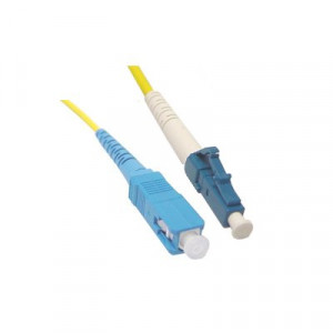 SC to LC 2 Meter Single-Mode Simplex Cable, 2m or 5m, CBF-SC-LC-SS