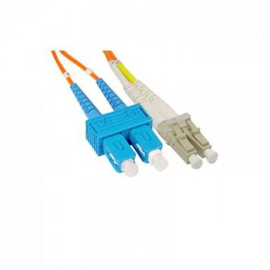 SC to LC Multi-Mode Duplex Cable, 1m, 2m or 5m, CBF-SC-LC-MD