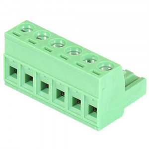 TB-6P-Male 6-pin Terminal Block Mates to Power Connector on Antaira's Switches
