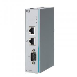 AxiomTek ICO120-83D Fanless Computer, Celeron N3350
