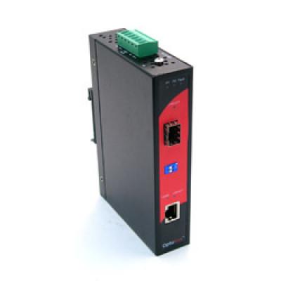 Antaira IMC-1000A-SFP Gigabit Ethernet to 1000LX/SX Media Converter, SFP