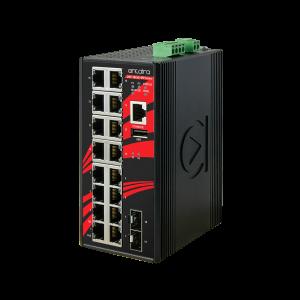 Antaira LMP-1802G-SFP (-T) 18-Port Managed Gigabit Ethernet Switch