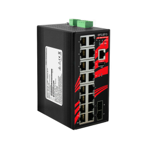 Antaira LMP-1802G-SFP (-T) 18-Port Managed Gigabit Ethernet Switch