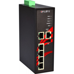 Antaira LMX-0500 5-Port Managed Ethernet Switch