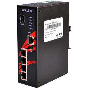 Antaira LMX-0501G-SFP 5-Port Managed Gb Ethernet Switch, 1 SFP Slot