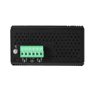 Antaira LMX-0601G-SFP-V2 6-Port Managed Gb Ethernet Switch, Single SFP Slot
