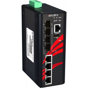 Antaira LMX-0804G-SFP 8-Port Managed Ethernet Switch