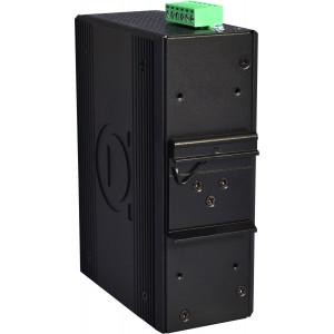 Antaira LMX-1202M-SFP 12-Port Managed Fas Ethernet Switch, 2 Gigabit SFP Slots