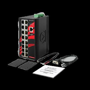 Antaira LMX-1600G (-T) 16-Port Managed Gigabit Ethernet Switch