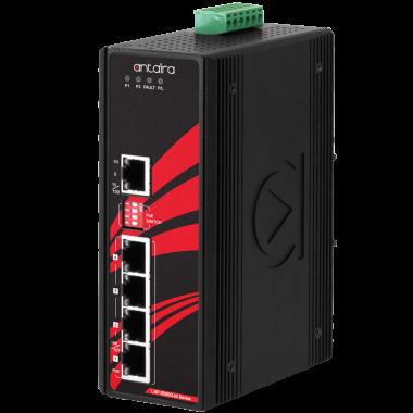Antaira LNP-0500G-bt (-24 -T) Unmanaged 5-Port Gigabit Ethernet Switch, PoE++